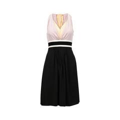 Bow Detail V-Neck Dress