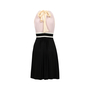 Authentic Second Hand Prada Bow Detail V-Neck Dress (PSS-071-00158) - Thumbnail 1