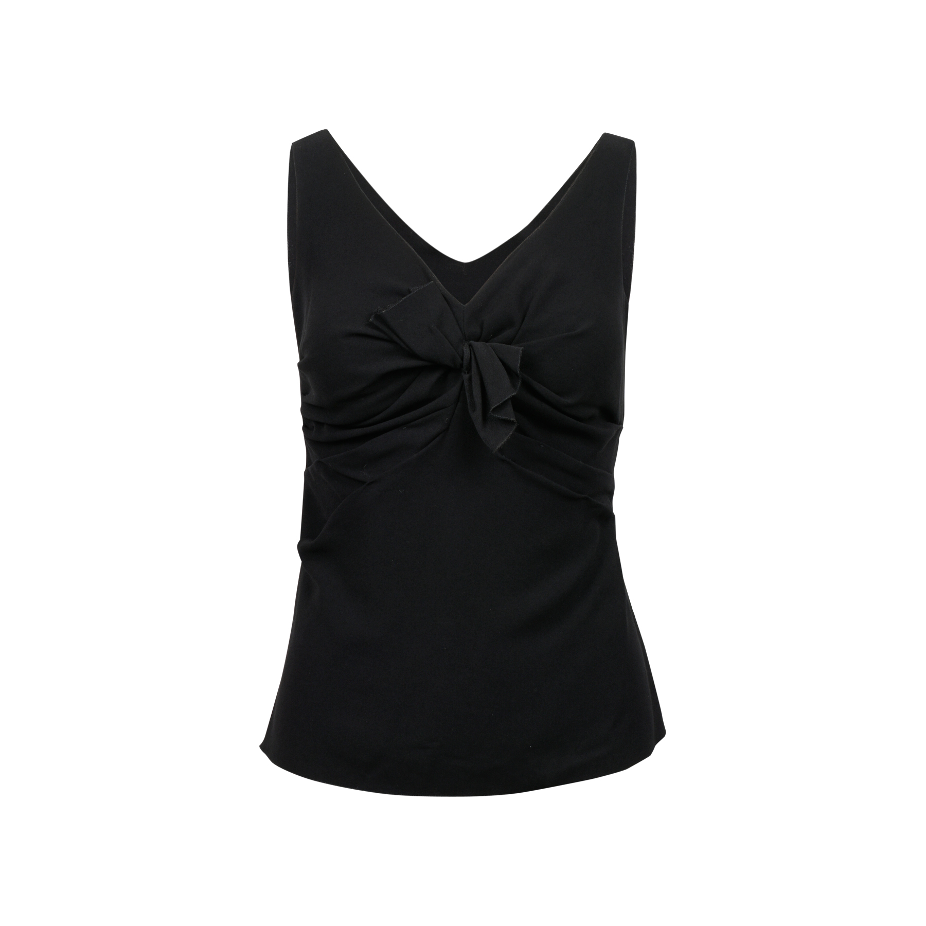 a3968377659ac8 Authentic Second Hand Prada Bow Detail Top (PSS-071-00166)