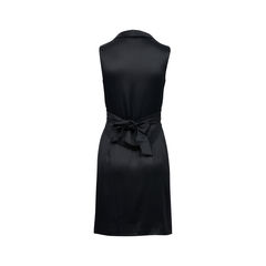 Zac posen black faille dress 2?1522309554