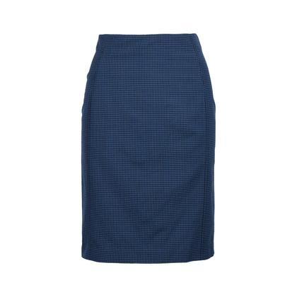 Authentic Second Hand McQ Alexander Mcqueen Checkered Zip Skirt (PSS-214-00026)