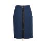 Authentic Second Hand McQ Alexander Mcqueen Checkered Zip Skirt (PSS-214-00026) - Thumbnail 1