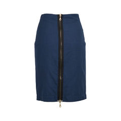 Mcq alexander mcqueen checkered zip skirt 2?1522312343