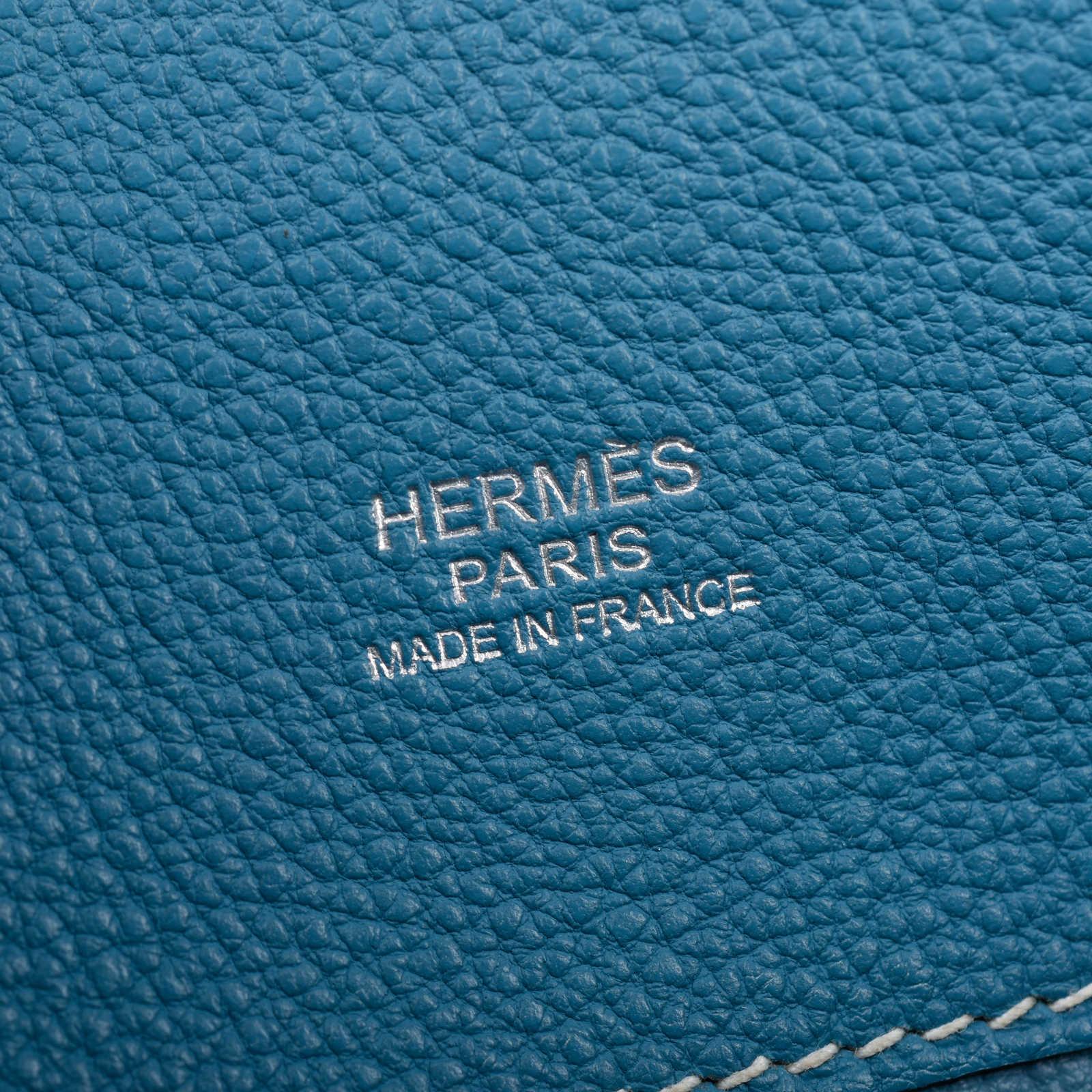 5e7d3a2b06c ... Authentic Second Hand Hermès Blue Jean So Kelly 22 (PSS-462-00044) ...