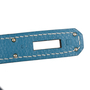 Authentic Pre Owned Hermès Blue Jean So Kelly 22 (PSS-462-00044) - Thumbnail 6
