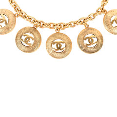 Chanel cc medallion charm necklace 2?1522495689