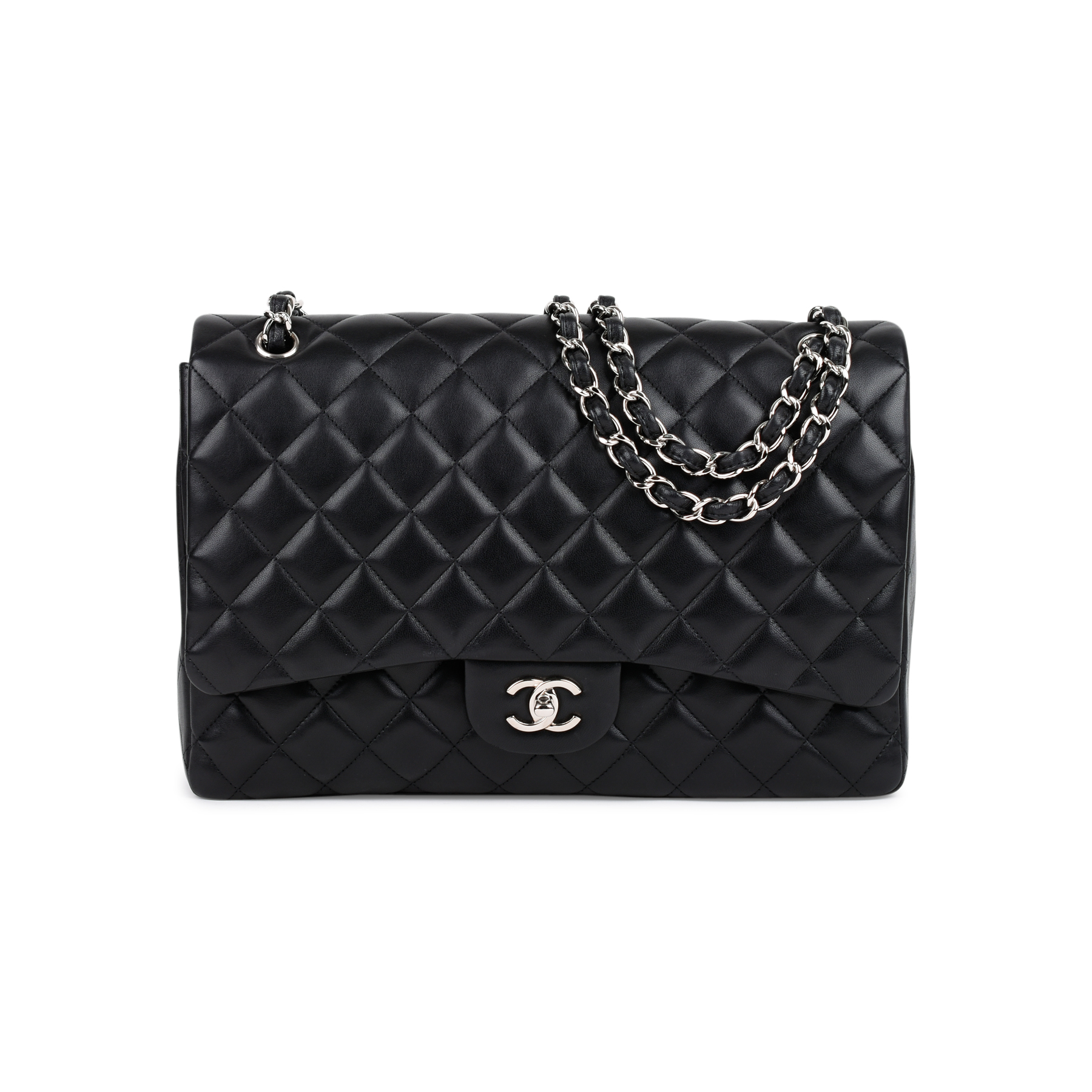 de0470c42e00 Authentic Second Hand Chanel Classic Maxi Flap Bag (PSS-464-00005) | THE  FIFTH COLLECTION
