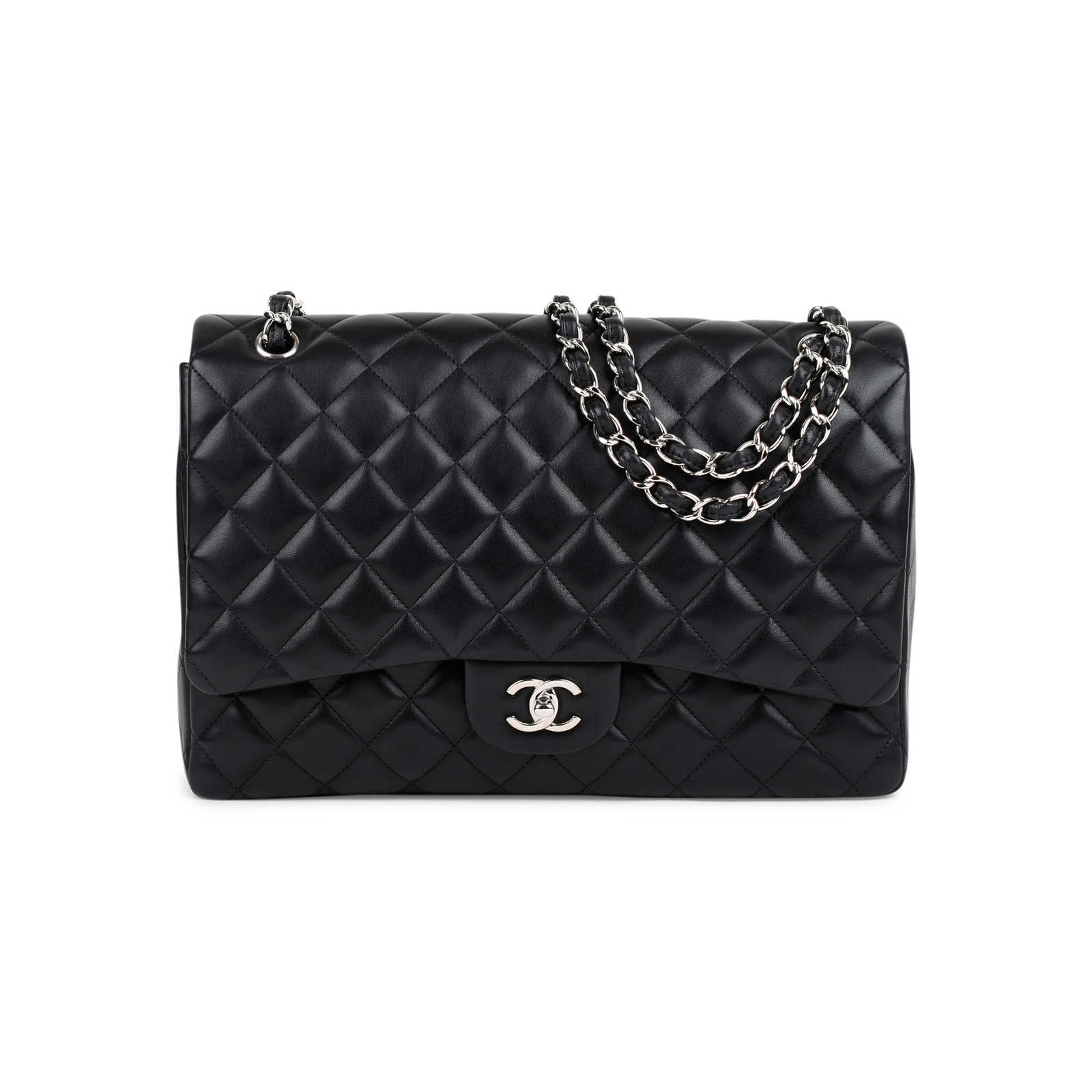 4010db5965d6 Authentic Second Hand Chanel Classic Maxi Flap Bag (PSS-464-00005) ...