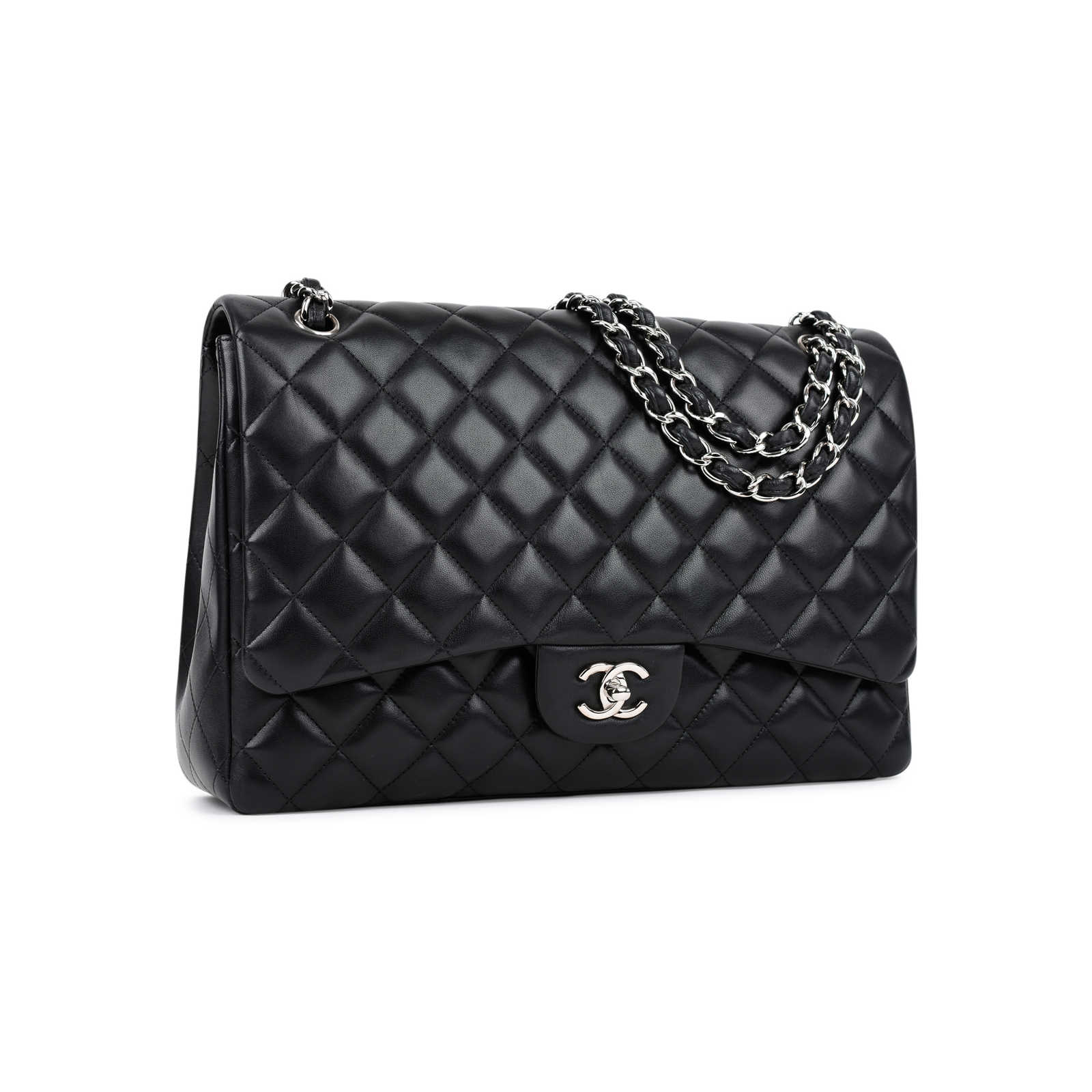 cc8921005709 ... Authentic Second Hand Chanel Classic Maxi Flap Bag (PSS-464-00005) ...