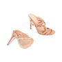 Authentic Second Hand Gianvito Rossi Braided Bead Detail Sandals (PSS-462-00002) - Thumbnail 2
