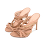 Authentic Second Hand Gianvito Rossi Braided Bead Detail Sandals (PSS-462-00002) - Thumbnail 3
