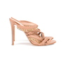 Authentic Second Hand Gianvito Rossi Braided Bead Detail Sandals (PSS-462-00002) - Thumbnail 4