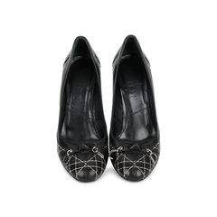 Cannage Quilted Pumps