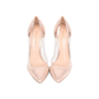Authentic Second Hand Gianvito Rossi Metallic Rose Gold Plexi Pumps (PSS-462-00007) - Thumbnail 0