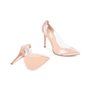 Authentic Second Hand Gianvito Rossi Metallic Rose Gold Plexi Pumps (PSS-462-00007) - Thumbnail 5