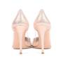 Authentic Second Hand Gianvito Rossi Metallic Rose Gold Plexi Pumps (PSS-462-00007) - Thumbnail 3