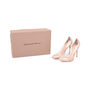 Authentic Second Hand Gianvito Rossi Metallic Rose Gold Plexi Pumps (PSS-462-00007) - Thumbnail 6