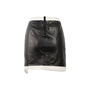 Authentic Second Hand Helmut Lang Evolution Warped Leather Skirt (PSS-469-00008) - Thumbnail 1