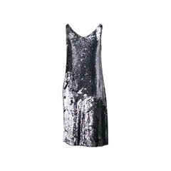 Haute hippie grey sequinned dress 2?1522728329