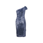 Authentic Second Hand Badgley Mischka Off-Shoulder Sequin Dress (PSS-469-00019) - Thumbnail 1