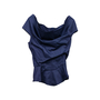 Authentic Second Hand Vivienne Westwood Anglomania Bustier Off Shoulder Blouse (PSS-441-00020) - Thumbnail 0