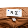 Authentic Second Hand Paige Zipped High-Rise Jeans (PSS-442-00003) - Thumbnail 2