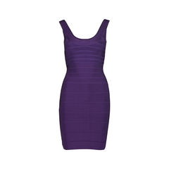 Scoop Neck Bandage Dress