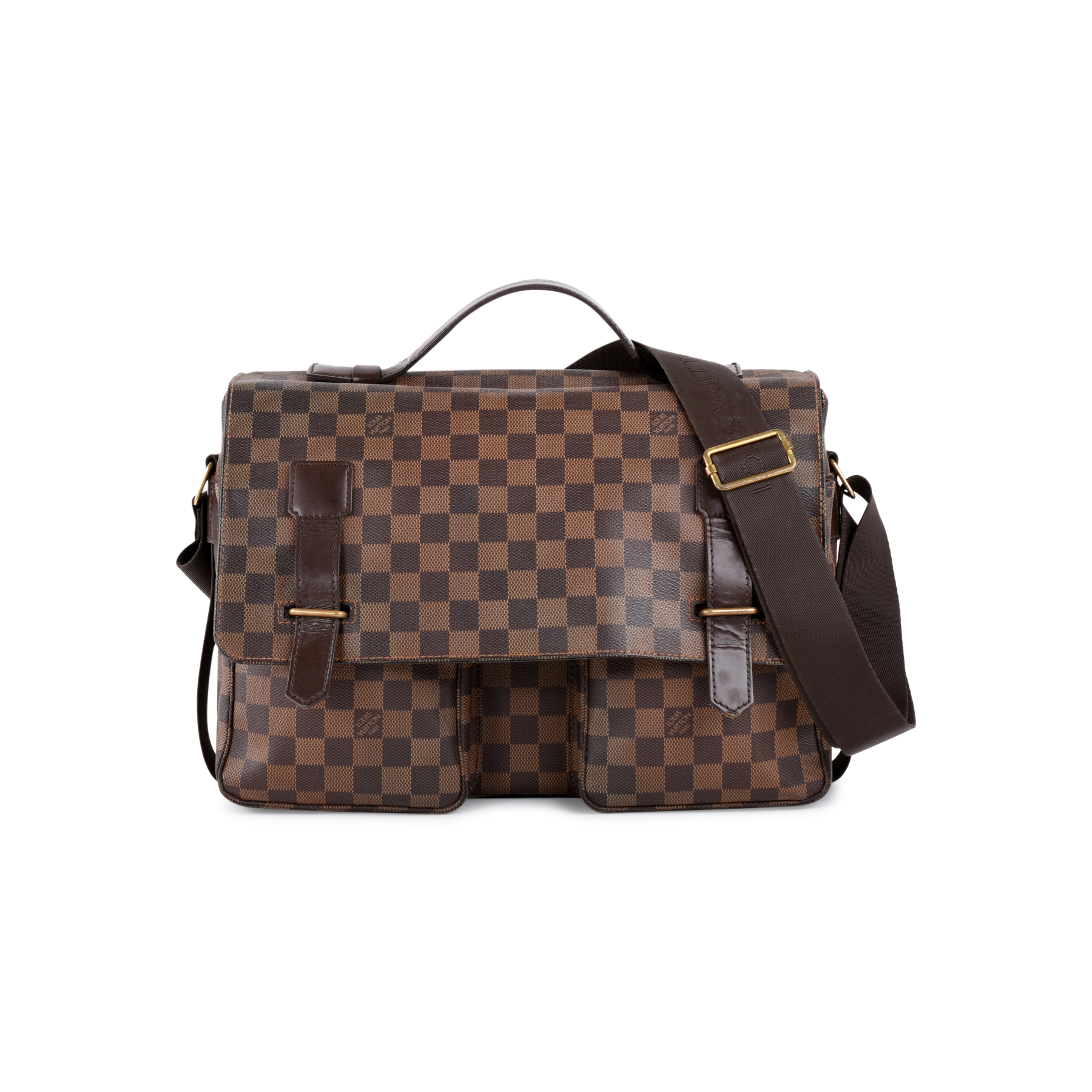 Authentic Pre Owned Louis Vuitton Damier Ebene Broadway Messenger Bag Pss 462 00020 The Fifth Collection
