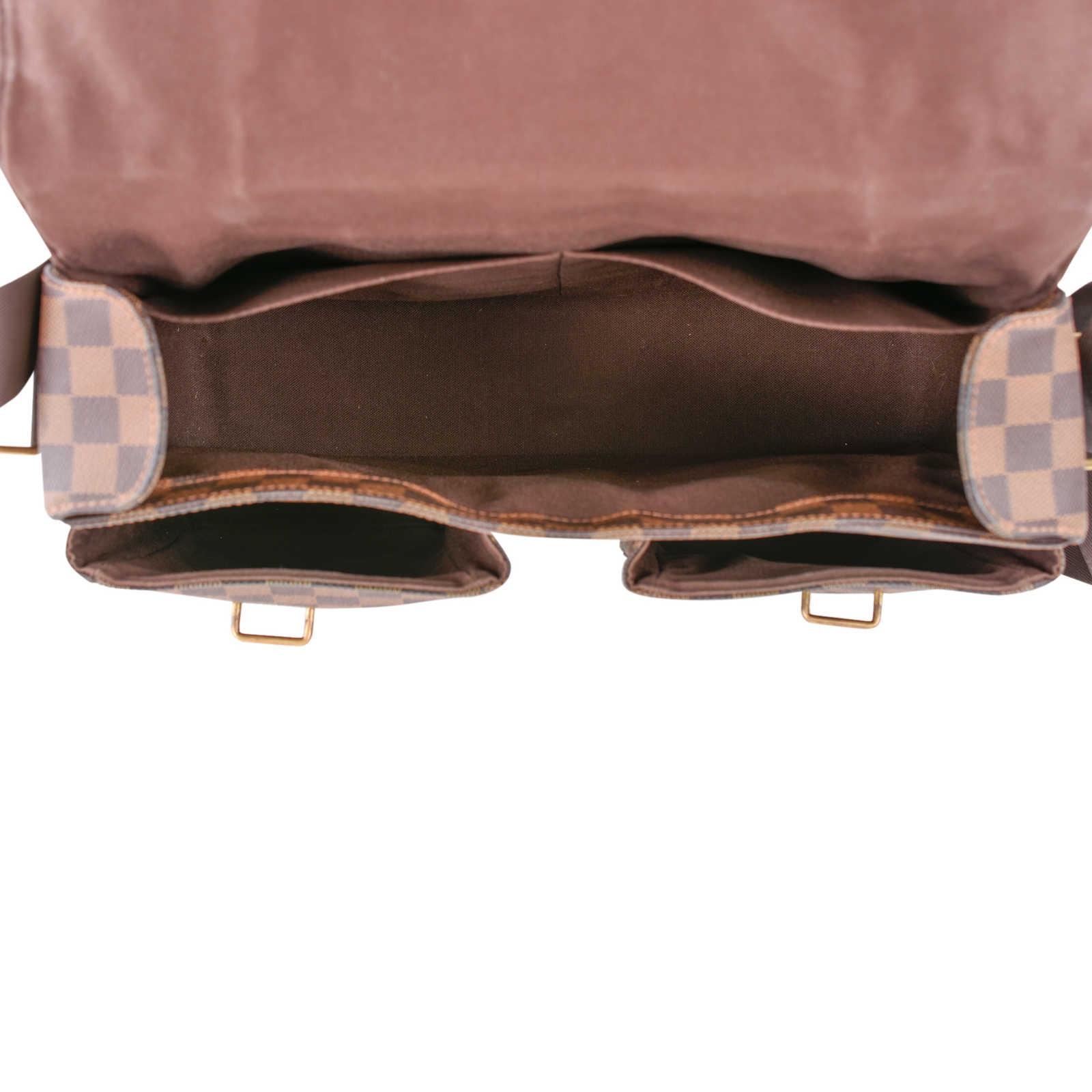 6fb405a3487 ... Authentic Second Hand Louis Vuitton Damier Ebene Broadway Messenger Bag  (PSS-462-00020