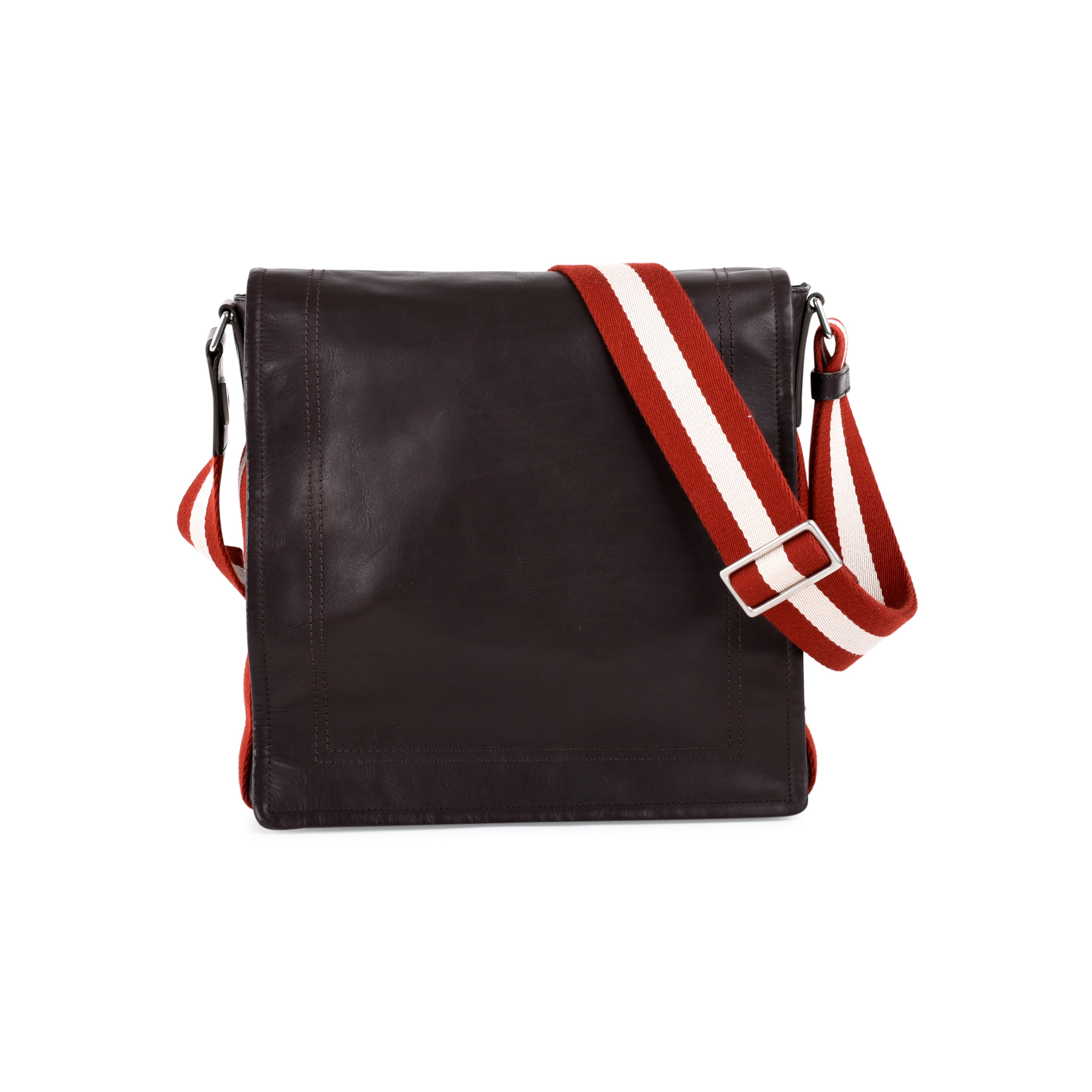992e48c5f6 Authentic Second Hand Bally Leather Messenger Bag (PSS-462-00021) - THE  FIFTH COLLECTION