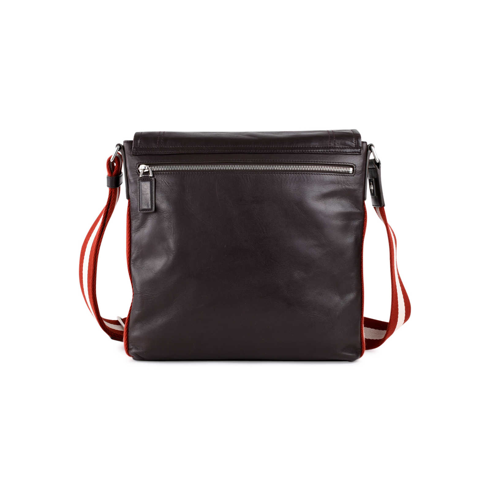 43b4b22acd ... Authentic Second Hand Bally Leather Messenger Bag (PSS-462-00021) -  Thumbnail ...