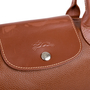 Authentic Second Hand Longchamp Veau Foulonne Shoulder Bag (PSS-462-00027) - Thumbnail 4