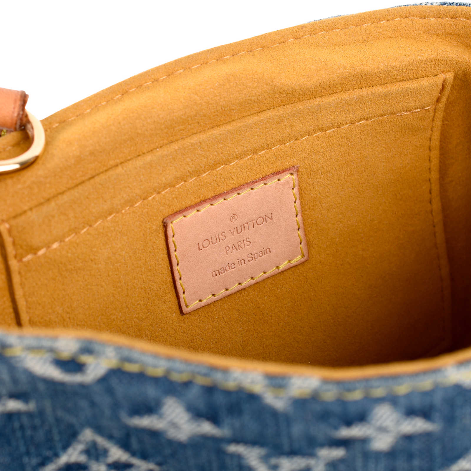 671166cfae0 ... Authentic Second Hand Louis Vuitton Monogram Denim Mini Pleaty  (PSS-462-00029)