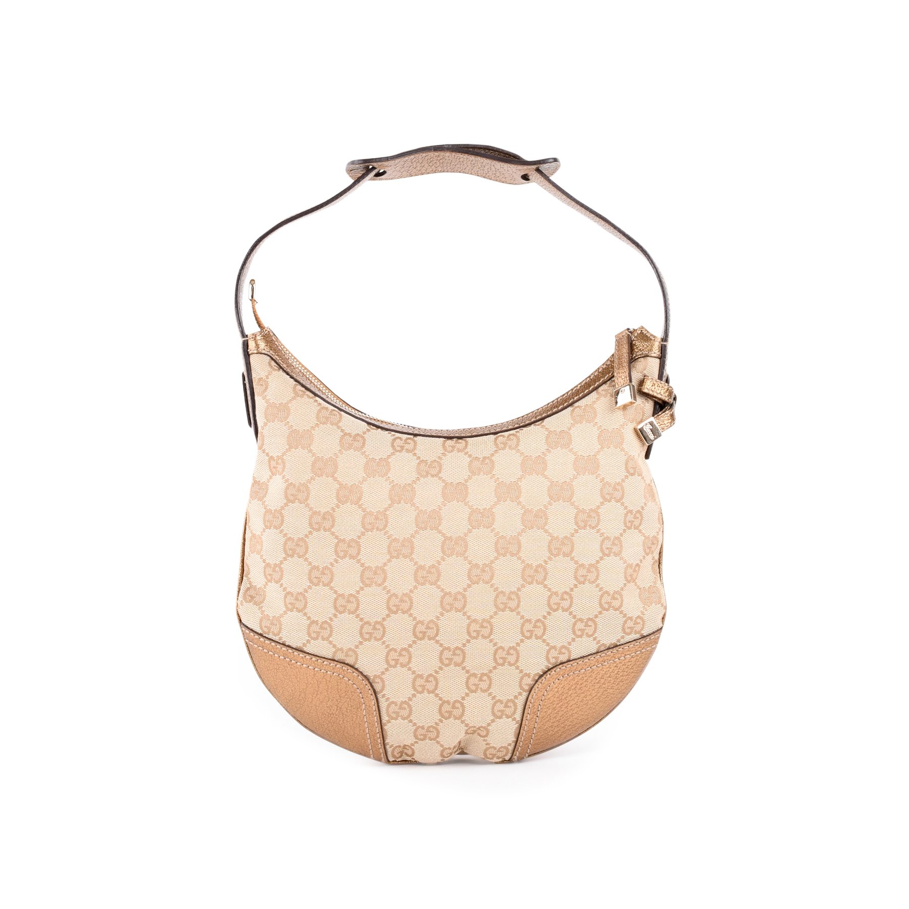 d5632806084 Authentic Second Hand Gucci Monogram Hobo Bag (PSS-462-00030)