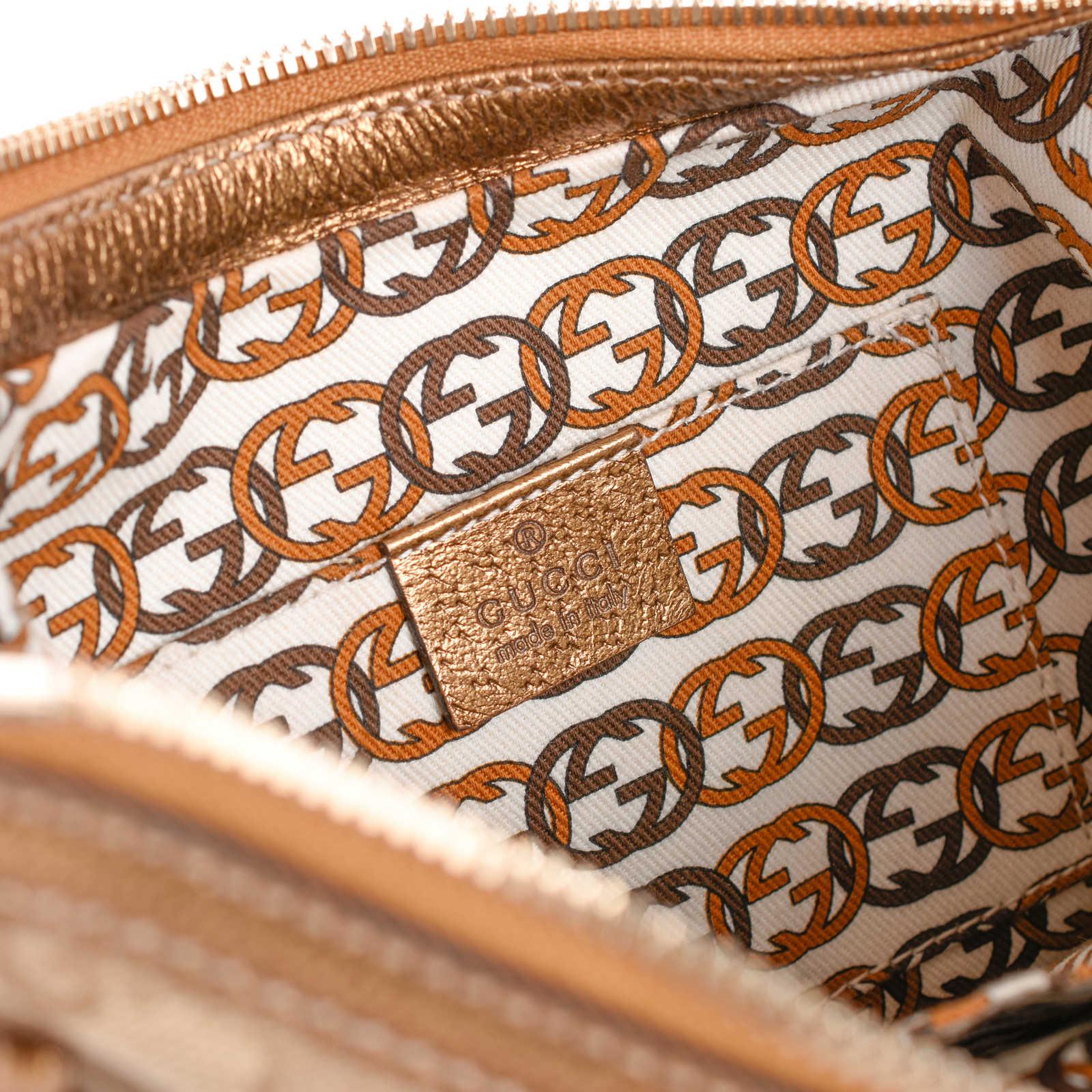 c9fc500e1d7 ... Authentic Second Hand Gucci Monogram Hobo Bag (PSS-462-00030) -  Thumbnail