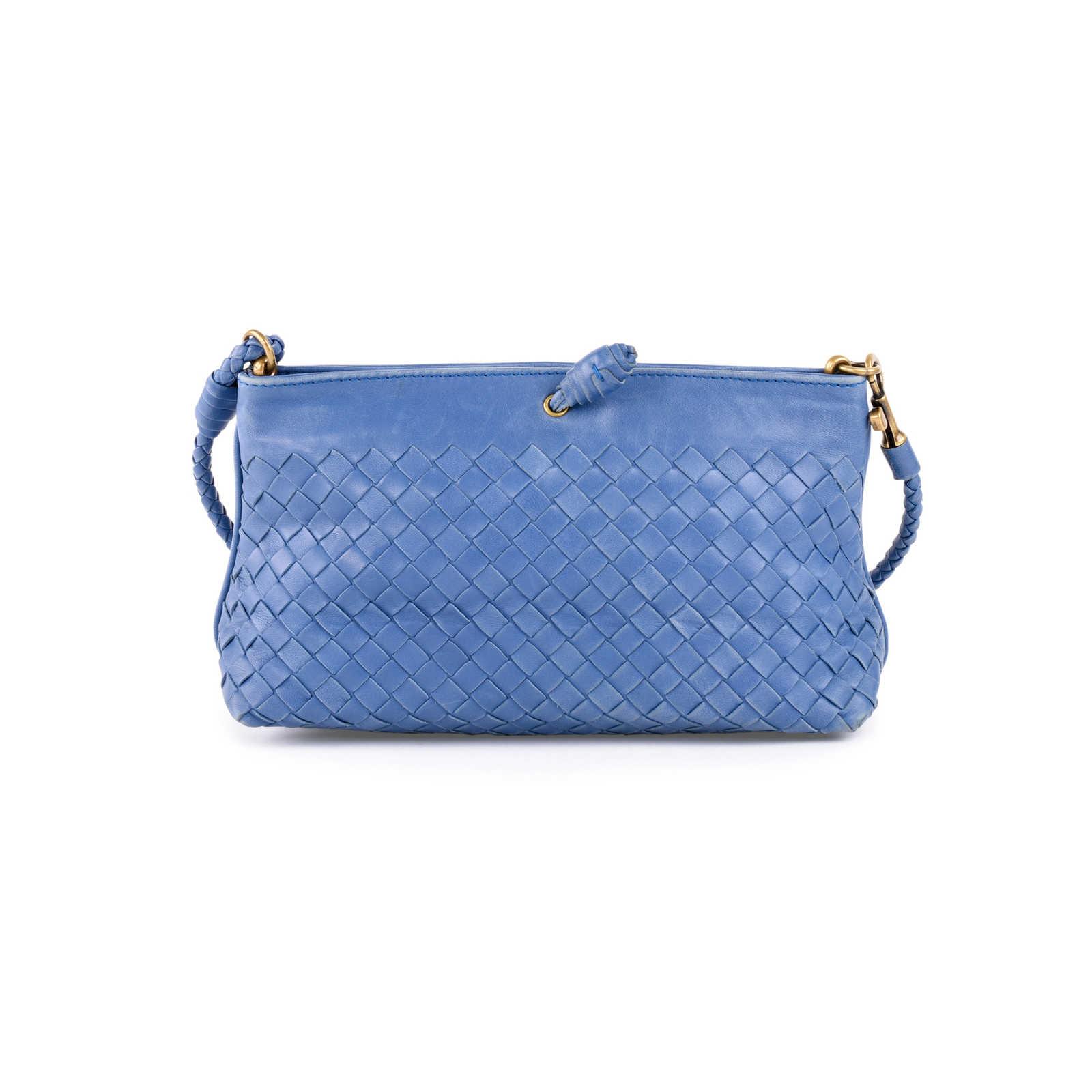 74b34ae701 ... Authentic Second Hand Bottega Veneta Intrecciato Small Leather Shoulder  Bag (PSS-462-00032 ...