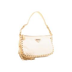 Prada gold accented shoulder bag 2?1522828796