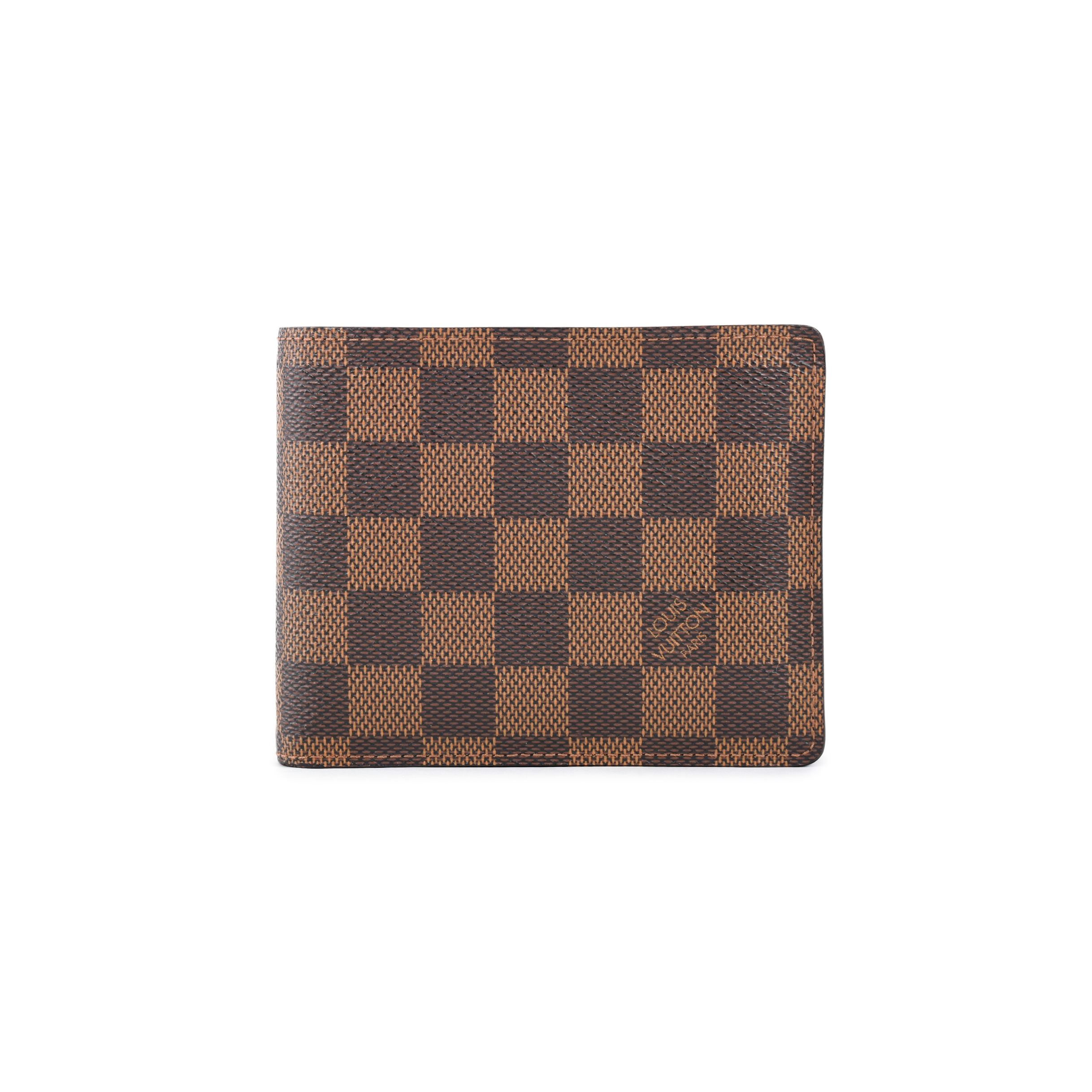 Authentic Pre Owned Louis Vuitton Damier Florin Wallet (PSS-462-00047)  c61acea8716