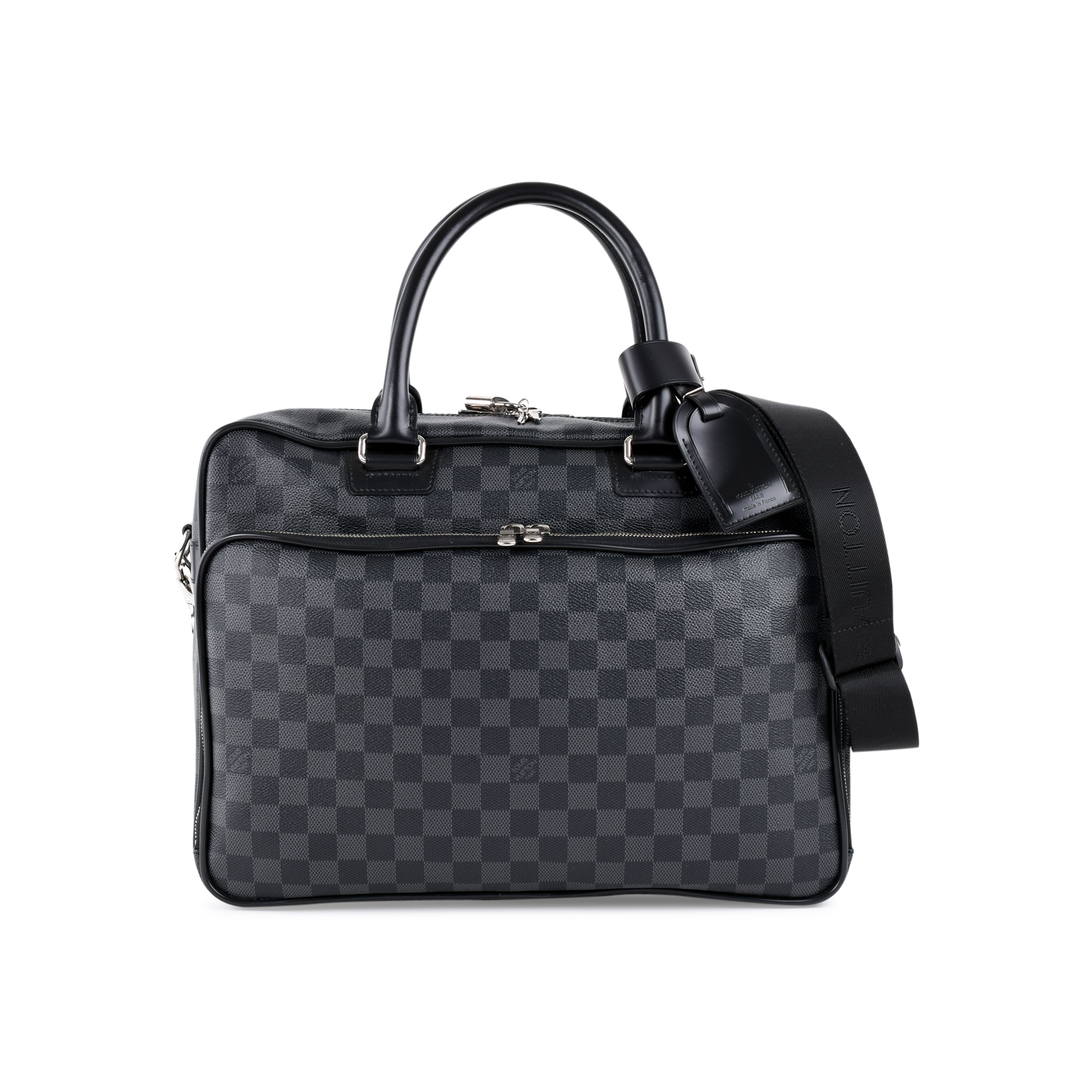 e7f4a023314 Authentic Second Hand Louis Vuitton Icare Damier Graphite Bag  (PSS-462-00052) - THE FIFTH COLLECTION