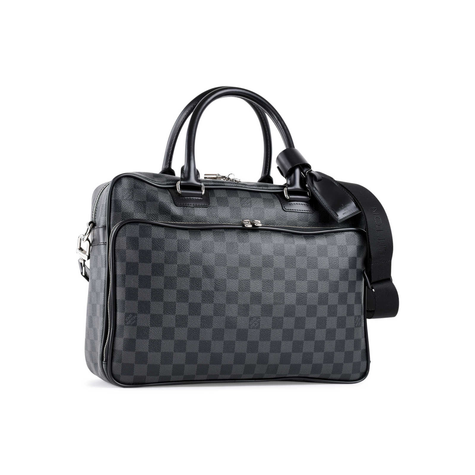 5309e45c718 ... Authentic Second Hand Louis Vuitton Icare Damier Graphite Bag  (PSS-462-00052) ...
