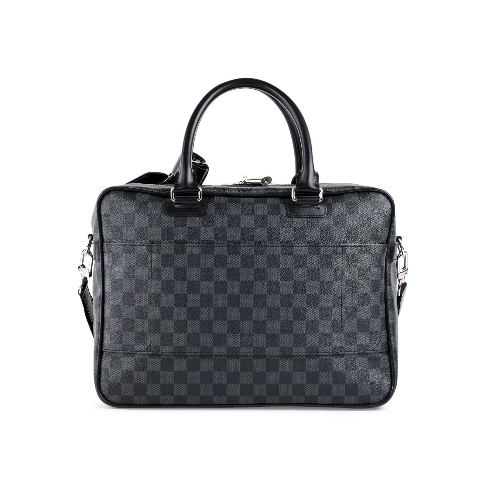 fe4da513c461 ... Authentic Second Hand Louis Vuitton Icare Damier Graphite Bag  (PSS-462-00052) ...