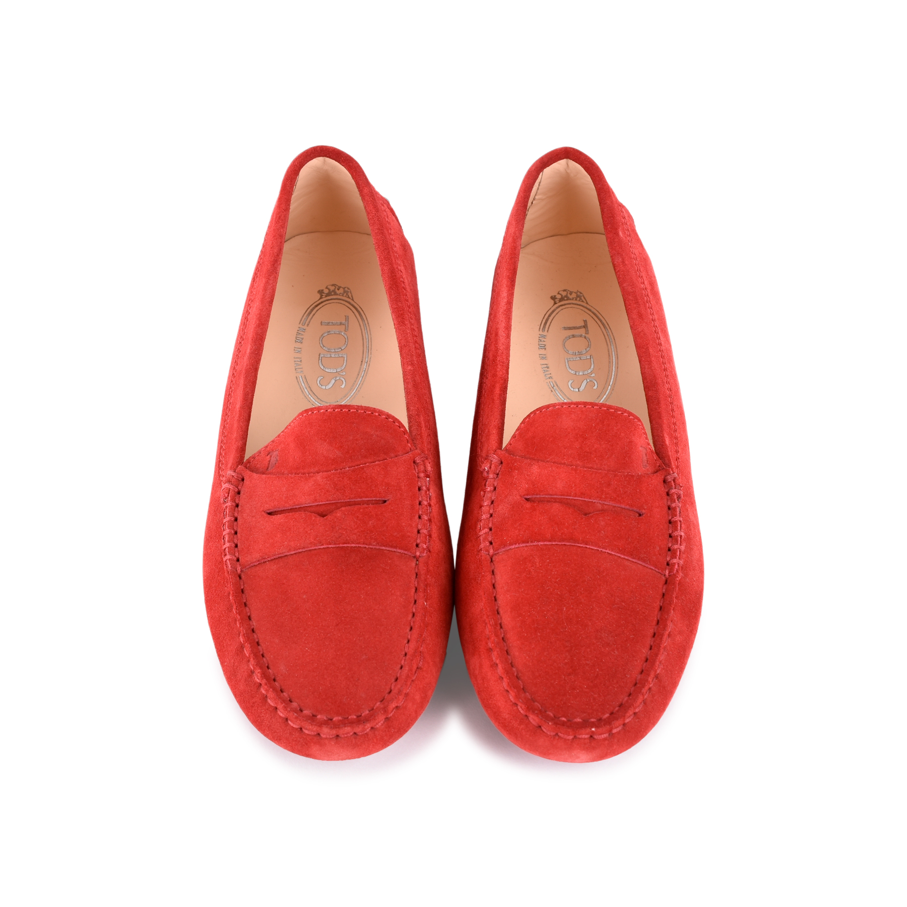 0f748aaf949 Authentic Second Hand Tod s Gommino Suede Loafers (PSS-469-00020 ...