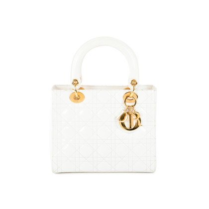 Christian Dior Lady Dior Patent Bag
