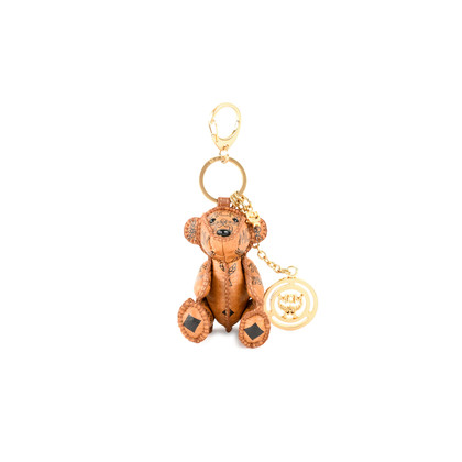 Authentic Second Hand MCM Teddy Bear Keychain (PSS-465-00005)