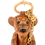 Authentic Second Hand MCM Teddy Bear Keychain (PSS-465-00005) - Thumbnail 4