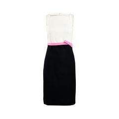 Monochrome Bow Dress
