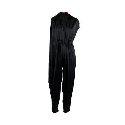 Lanvin Draped Fringe Jumpsuit