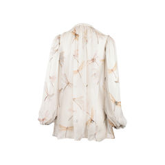 Alexander mcqueen sheer blouse 2?1523256293
