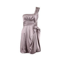 Draped Gathered Dress