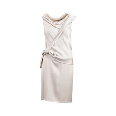 Sleeveless Tie Detail Dress